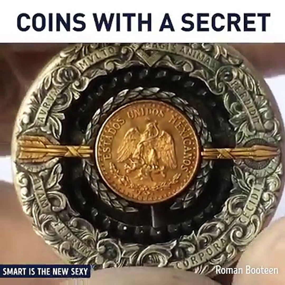 Engraving coins in