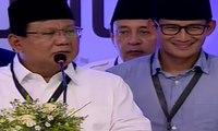 Prabowo Subianto dan Sandiaga Uno Resmi Daftar Pilpres 2019