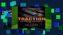 About For Books  Traction: Get a Grip on Your Business  Review