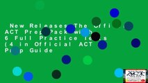 New Releases The Official ACT Prep Pack with 6 Full Practice Tests (4 in Official ACT Prep Guide
