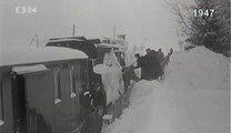 Tuhá zima a železniční doprava (1947, Archiv ČT24: Extrémy počasí)
