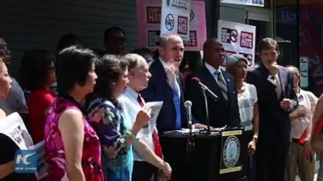 Stop the hate! Local leaders and representatives from Chinese community are denouncing the hate crime after racist graffiti directed at Chinese community pops u