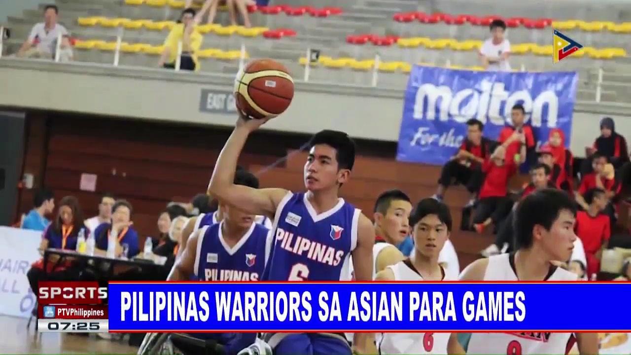 SPORTS BALITA: Pilipinas Warriors sa Asian Para Games