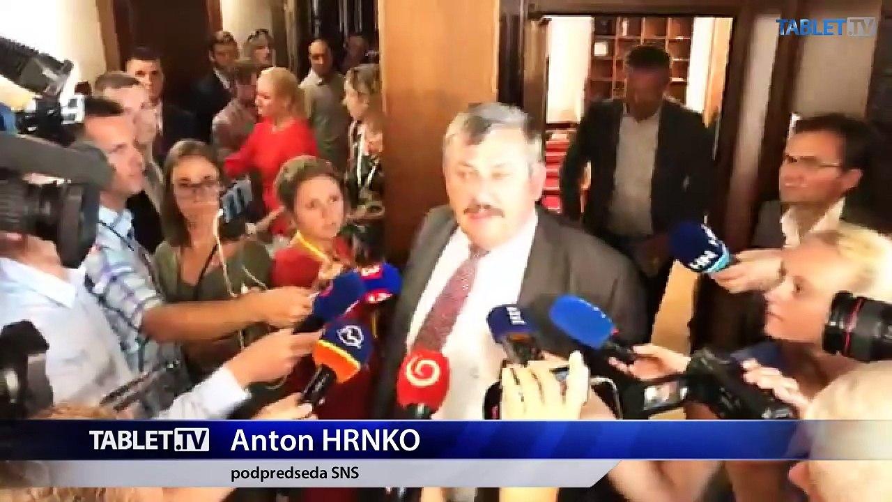 ZÁZNAM: Brífing A. Hrnka po zasadnutí Výboru NR SR pre obranu a bezpečnosť