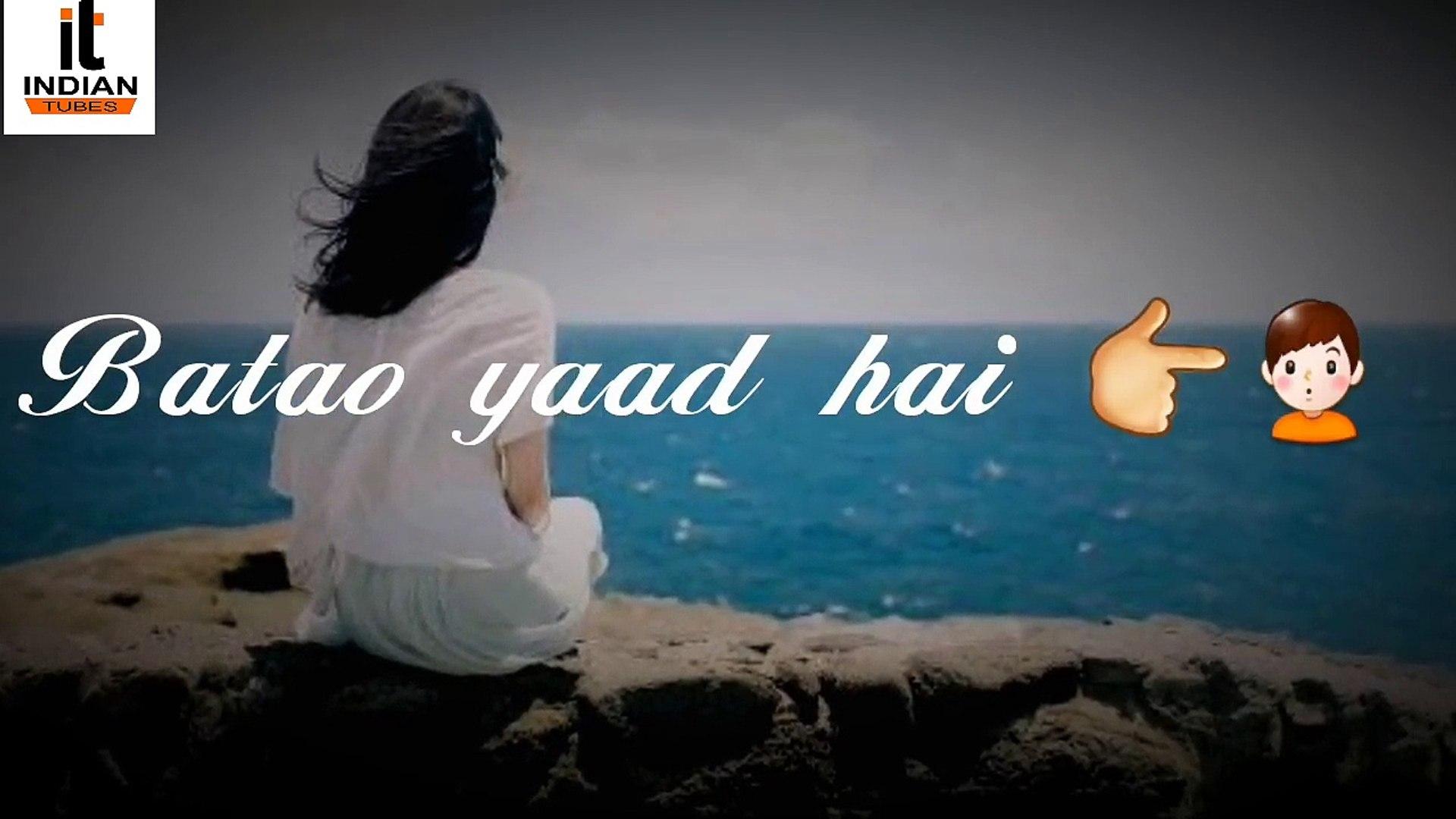 Batao Yaad Hai Tumko Woh Jab Dil Ko Churaya Tha ! New
