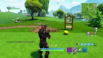 Hit a golf ball from tee to green on different holes - All Golf Tee Locations in Fortnite