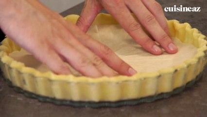 Cuire à blanc une pâte