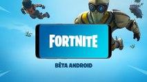 Fortnite sur Android - La bêta disponible