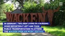 Two Elderly Men Escape Nursing Home to Attend Heavy Metal Concert