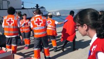 Los inmigrantes rescatados del 'Open Arms' han sido trasladados al CATE