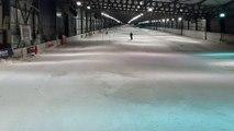 Le Strasbourgeois Thibaut Favrot au snowhall d'Amnéville