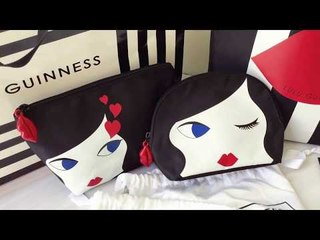 Lulu Guinness X 7-11聯名集點活動 限量紅唇娃娃包搶先開箱