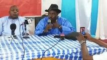 Simaga Lassana - En direct de la maison de la presse pour une conférence de presse