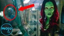 Top 10 Easter Eggs in Avengers: Infinity War