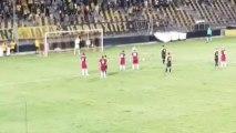 1-0 Το γκολ του Ναζλίδη - Άρης 1-0 ΑΕΛ Λάρισα 09.08