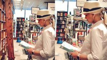 Sonali Bendre latest picture from New York book store, break from Cancer treatment। FilmiBeat