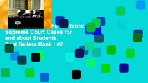 Best ebook  We the Students: Supreme Court Cases for and about Students  Best Sellers Rank : #2
