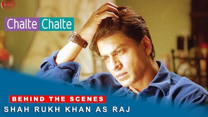 Chalte Chalte | Behind The Scenes | Rani Mukherji | Shah Rukh Khan as Raj