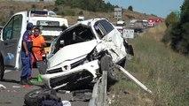 Bolu Takla Atan Otomobildeki Anne ve Bebeği Öldü, 4 Kişi Yaralandı Hd