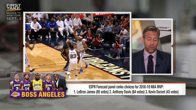Max Kellerman: Anthony Davis will eclipse LeBron James as best player in NBA | First Take | ESPN