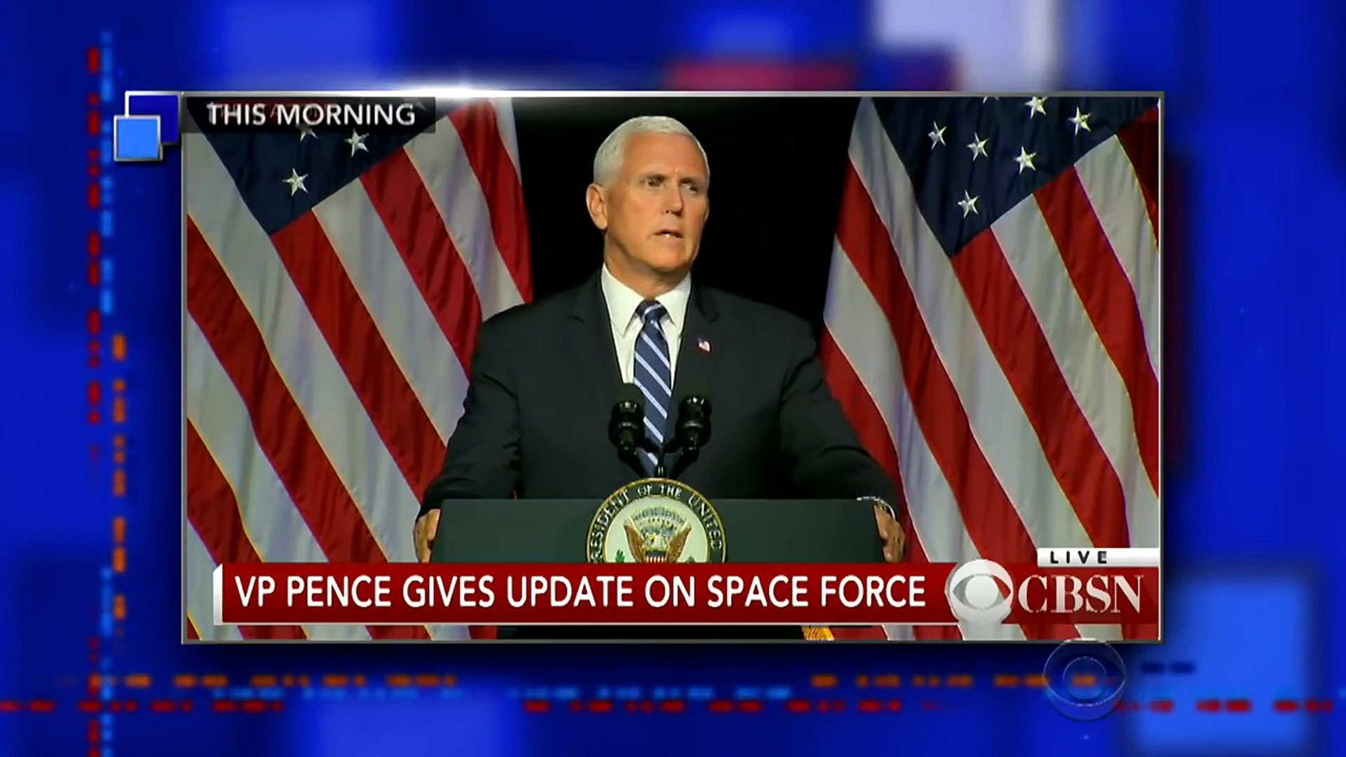 Mike Pence Tries To Make Space Force Sound Less Dumb