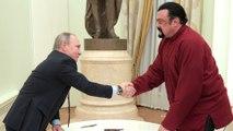 Steven Seagal nommé émissaire russe aux Etats-Unis