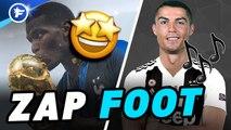 Zap Foot : la coupe 2 étoiles de Pogba, la chanson sur CR7