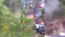 İstanbul Odunlukta Başlayan Yangın Ormana Sıçradı Hd