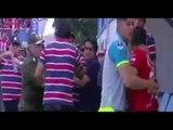 Escandalo - Cristian Pochi Chavez se pelea a golpes con Thiago Leitao en Bolivia