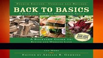 About For Books  Back to Basics: A Complete Guide to Traditional Skills (Back to Basics Guides)