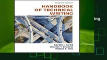New Releases The Handbook of Technical Writing Complete