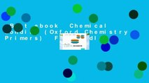 Best ebook  Chemical Bonding (Oxford Chemistry Primers)  For Kindle