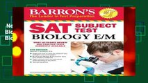 New Releases Sat Subject Test Biology (Sat Subject Test Biology E/M)  Unlimited
