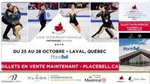 Championnats québécois d'été 2018 Eve 39 Novice Dames Gr. 2 prog. Court + Eve 40 Novice Messieurs prog. Court + Eve 41 Novice Dames Gr. 3 prog. Court + Eve 42 Pré-Novice Dames Gr. 6 prog. Libre