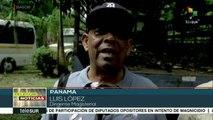 Docentes panameños exigen a gob. cumplir acuerdos alcanzados en 2016