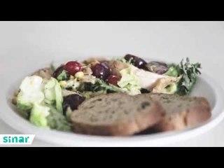 Resipi Sihat Ayam Salad #AngahEatClean
