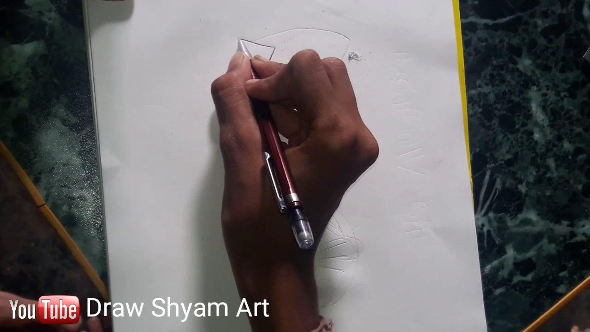 How to Draw Chhota Bheem  Drawing     Draw Choota bheem Cartoon    Draw Shyam Art