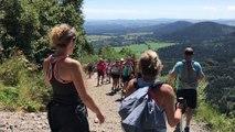 L'ascension du Puy-de-Dôme d'Enéa pour faire connaître la mastocytose