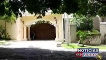 """Una de las propiedades incautadas por la FGR del ex presidente Elías Antonio Saca, se encuentra una casa  que ha sido denominada como """" El monumento a  la corru"""