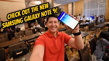 I attended the Samsung Galaxy Note 9 Local Unpacked Event
