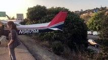 - ABD'de Havada Arızalanan Uçak Otoyola İniş Yaptı