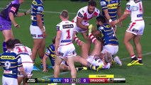 NRL Highlights: Parramatta Eels v St George-Illawarra Dragons - Round 22