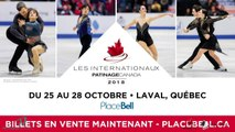 Championnats québécois d'été 2018 Eve 68 Novice Dames Gr. 1 prog. Libre échauffement 1-2
