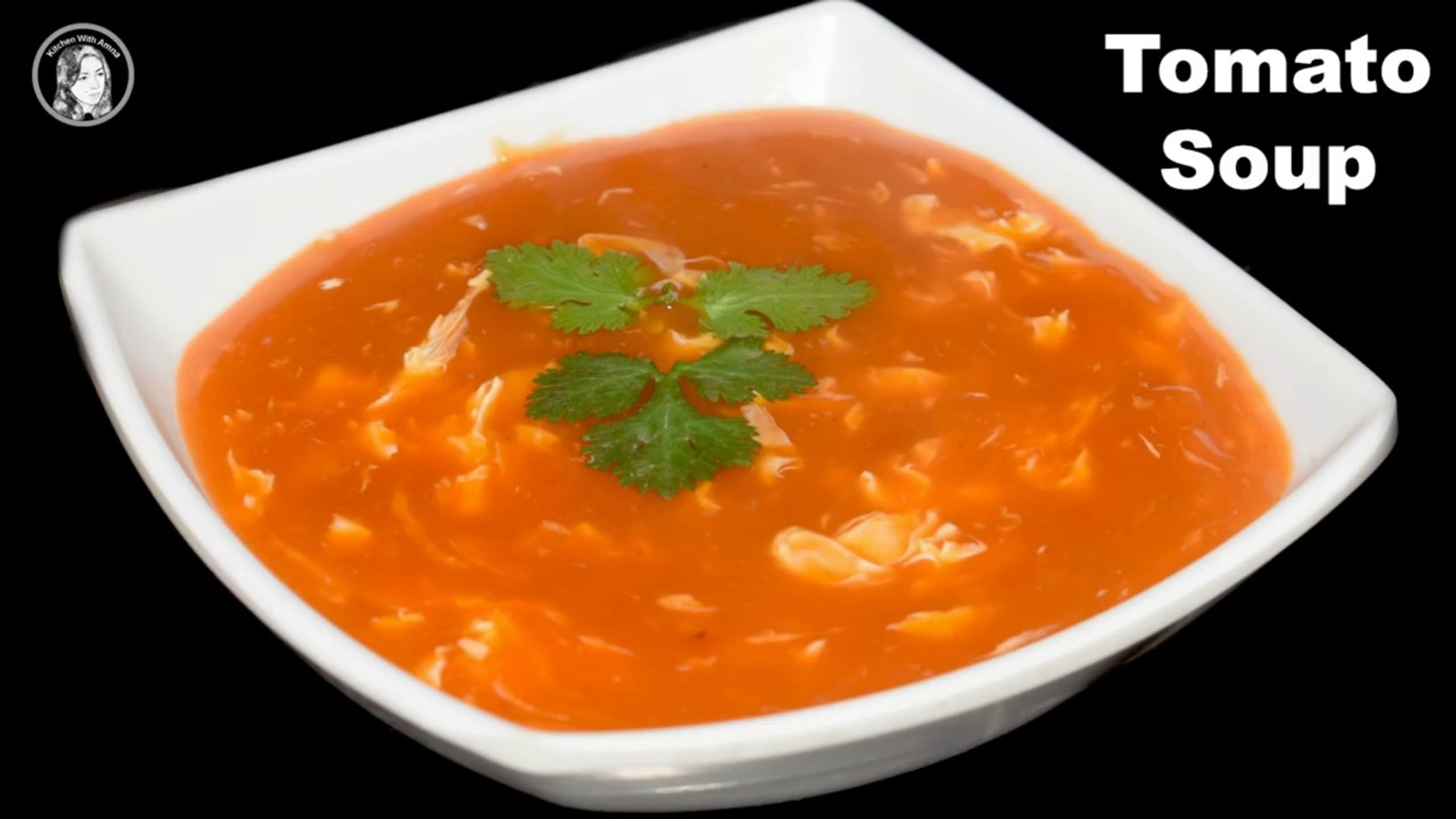 Egg Tomato Soup Recipe Tomato Soup Soup Recipes Kitchen With Amna Video Dailymotion