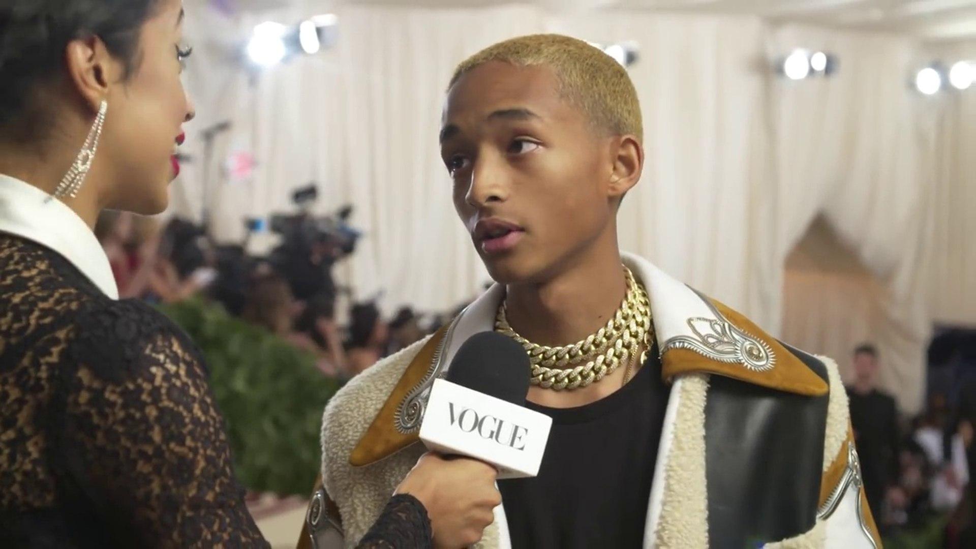 Jaden Smith on His Cozy Look for the Met Gala - Met Gala 2018 With Liza Koshy