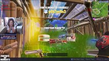 """FORTNITE STREAMERS ARE REPORTING FAKE TSM_MYTH FOR """"STREAM SNIPING"""" Fortnite - Funny and OP Moments"""