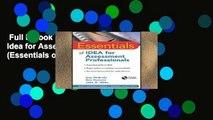 Essentials of IDEA for Assessment Professionals (Essentials of Psychological Assessment)