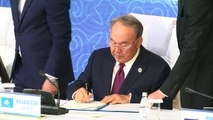 Caspian Sea nations sign landmark deal