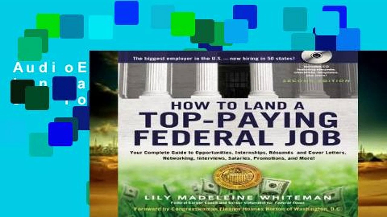 AudioEbooks How to Land a Top-Paying Federal Job For Kindle