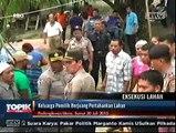 Eksekusi Lahan di Padang Lawas Utara Berlangsung Ricuh